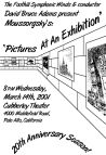"""Pictures at an Exhibition"" poster"