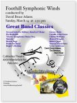 """Great Band Classics"" poster"