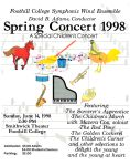 """A Special Childrens Concert"" program cover"